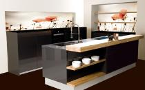 k chenr ckwand glas. Black Bedroom Furniture Sets. Home Design Ideas