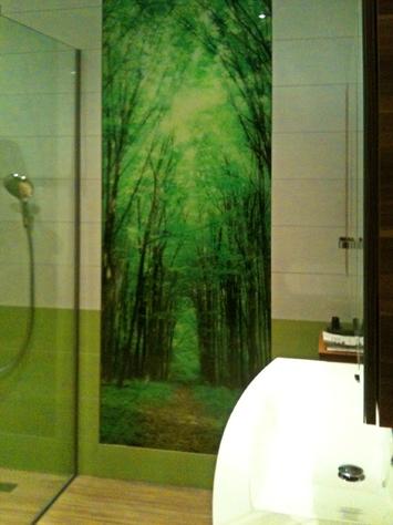 Referenzen Küchenrückwand Österreich - Dusche mit glas statt fliesen