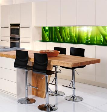 k chenr ckwand glas. Black Bedroom Furniture Sets. Home Design Ideas